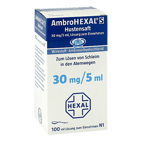 AMBROHEXAL S Hustensaft 30 mg/5 ml