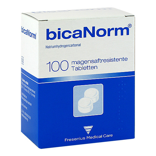 Fresenius Medical Care Deutschland GmbH BICANORM magensaftresistente Tabletten 100 St 01654873