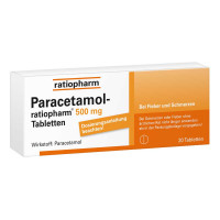 PARACETAMOL ratiopharm 500 mg Tabletten