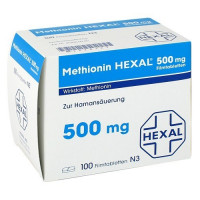METHIONIN HEXAL 500 mg Filmtabletten