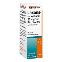 LAXANS ratiopharm 7,5 mg/ml Pico Tropfen