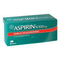 ASPIRIN N 100 mg Tabletten