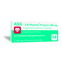 ASS 1A Pharma Protect 100 mg magensaftr.Tabletten