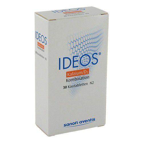Laboratoire Innotech International IDEOS 500 mg/400 I.E. Kautabletten 30 St 160914