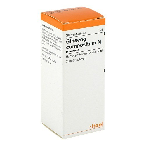 Biologische Heilmittel Heel GmbH GINSENG COMPOSITUM N Tropfen 30 ml 7611