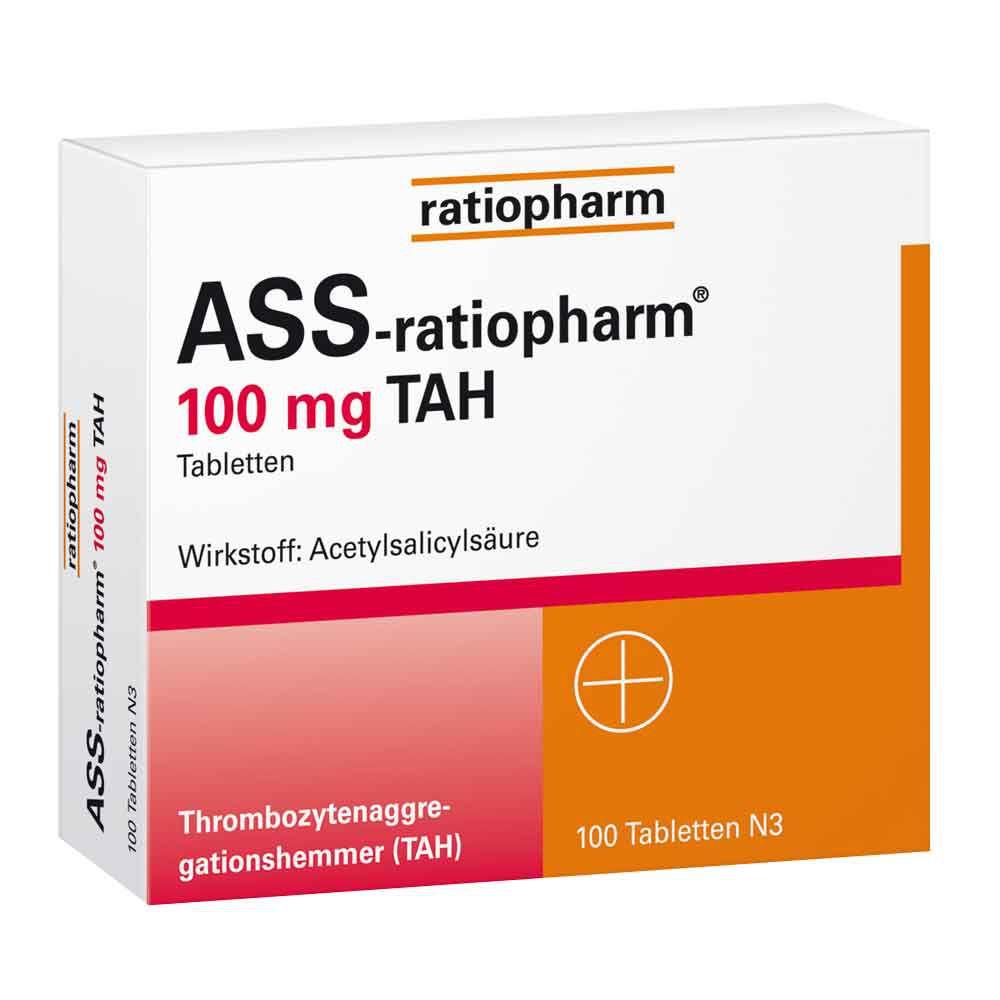 Ass100mg Ratiopharm Nebenwirkungen