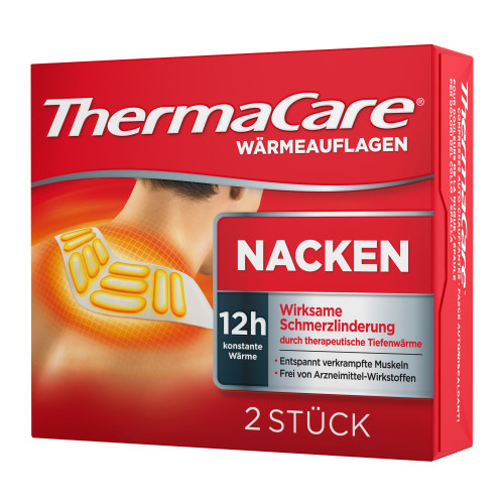 Thermacare Nackenschulter Auflagen Zschmerzlind