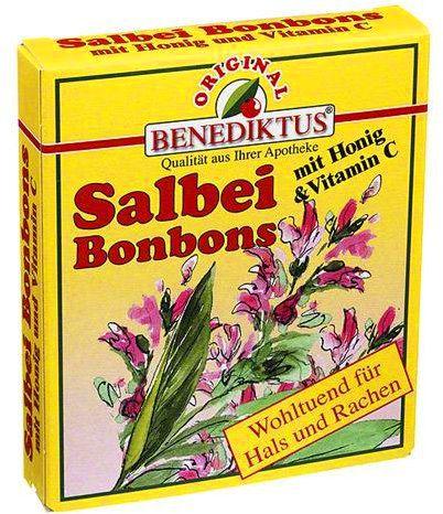 salbei bonbons mit honig und vitamin c delmed. Black Bedroom Furniture Sets. Home Design Ideas