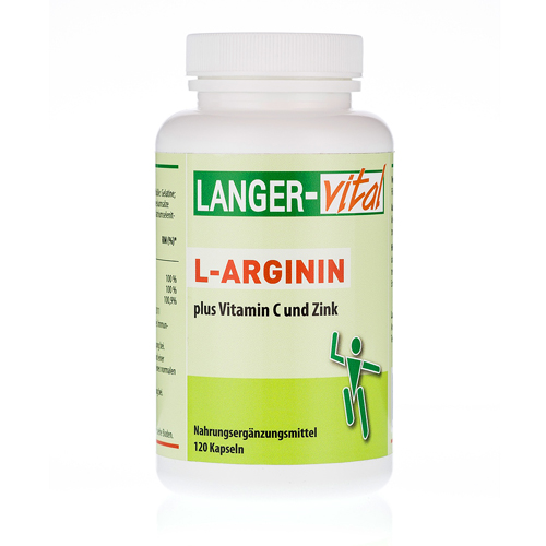 l arginin 2894 mg tg plus vitamin c und zink kaps 120 st. Black Bedroom Furniture Sets. Home Design Ideas