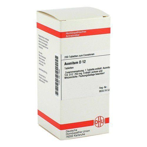 DHU-Arzneimittel GmbH & Co. KG ACONITUM D 12 Tabletten 200 St 02811582