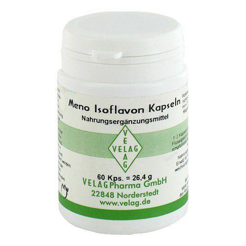 Velag MENO ISOFLAVON 50 mg Rotklee Kapseln 60 St