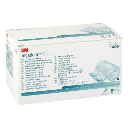 3M Medica Zweigniederlassung der 3M Deutschland GmbH TEGADERM 3M Pflaster 10 cmx10 m Rolle 16004 1 St 03816512