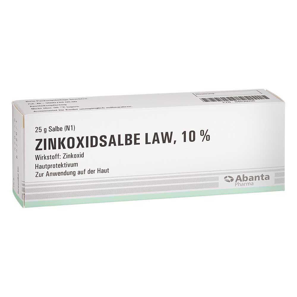 Carinopharm GmbH ZINKOXID Salbe LAW 25 g 04030096