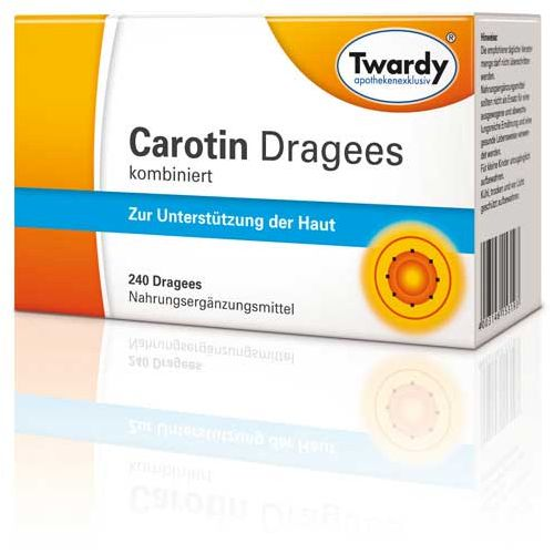 CAROTIN DRAGEES kombiniert 240 g