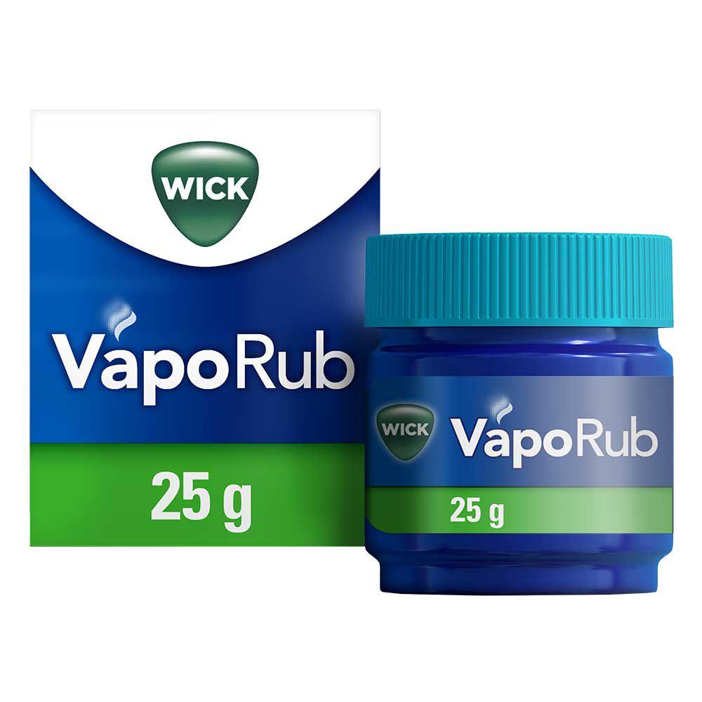 wick vaporub erk ltungssalbe 25 g delmed. Black Bedroom Furniture Sets. Home Design Ideas