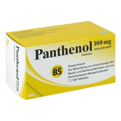 Panthenol 100 Mg Jenapharm Tabletten 100 St Delmed