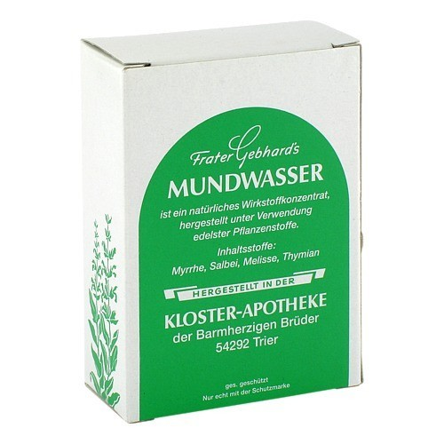 Frater Gebhard's Kloster Essenz Vertrieb FRATER GEBHARD'S Mundwasser 50 ml