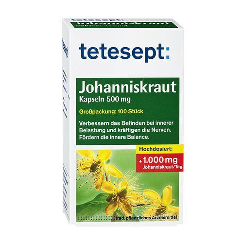 Tetesept Johanniskraut Test