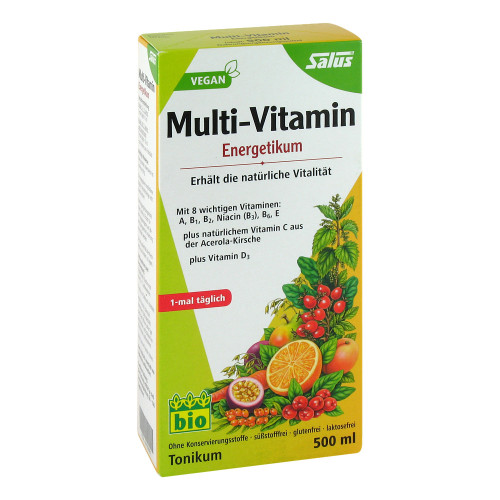 MULTI-VITAMIN ENERGETIKUM Salus 500 ml
