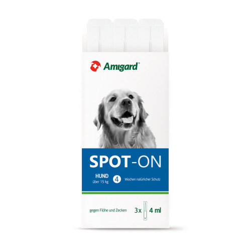 AMIGARD Spot-on Hund über 15 kg 3X4 ml