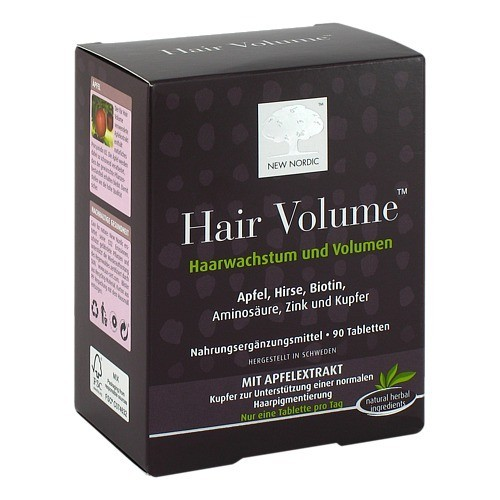HAIR VOLUME Tabletten | PZN: 10260452 | Delmed