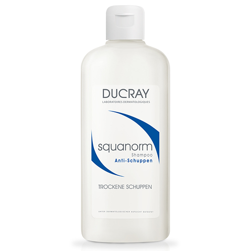 ducray squanorm trockene schuppen shampoo delmed. Black Bedroom Furniture Sets. Home Design Ideas