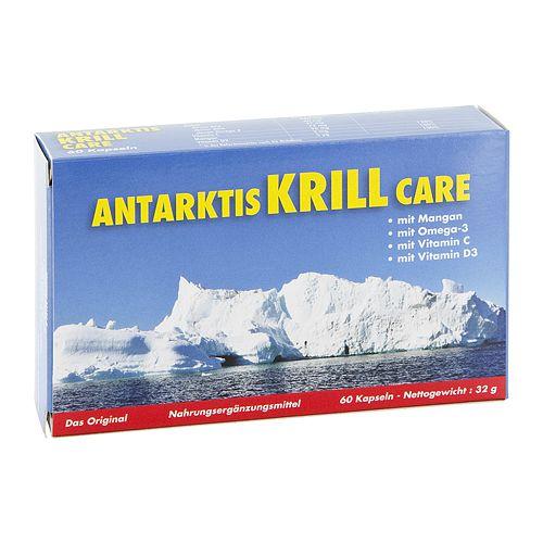 P.M.C. Care GmbH ANTARKTIS Krill Care Kapseln 60 g