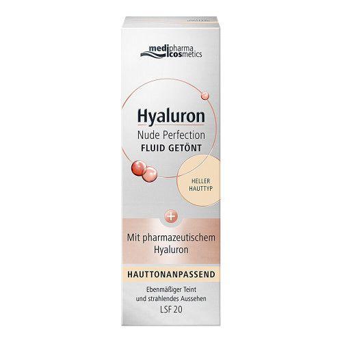 HYALURON NUDE Perfect.Fluid getönt hell.HT LSF 20 50 ml